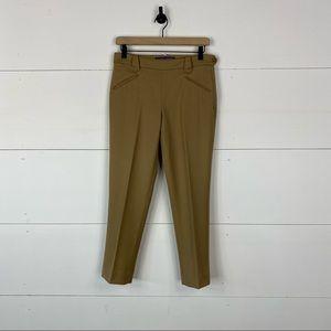 Ralph Lauren Purple Label Womens Wool Crop Pants
